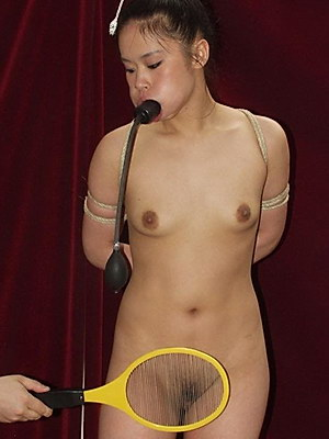 Breathless Asian Teens Electro Pain